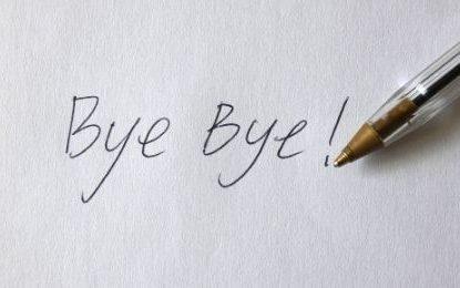 Abre el corazón para decir adiós