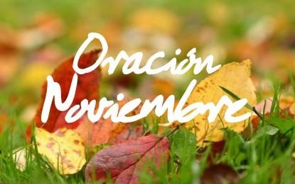 Oración para el mes de Noviembre