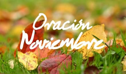 oracion noviembre