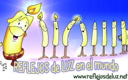 """Lema pastoral """"Reflejos de Luz en el mundo"""" Curso 2015-16"""