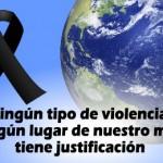 ¡No a la violencia!