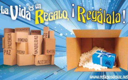"""Lema Pastoral 2017-18 """"La vida es un regalo, ¡Regálala!"""""""