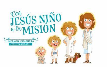 Con Jesús, Niño, a la Misión