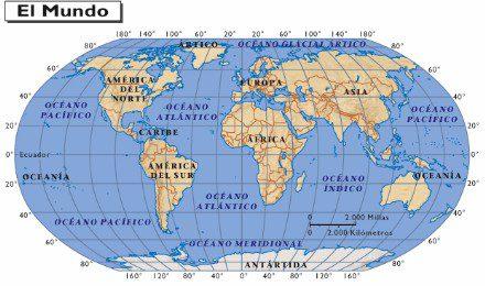 Mapa Interactivo del mundo