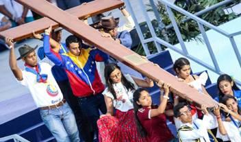 Vía Crucis presidido por el Papa en la JMJ Panamá 2019