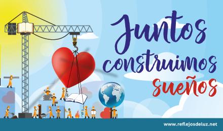 Lema Pastoral 2019-20 «Juntos construimos sueños»